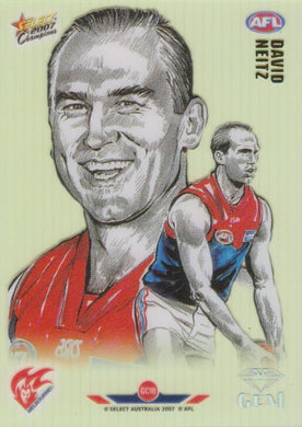 David Neitz, Gem card, 2007 Select AFL Champions