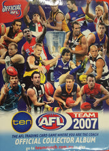 2007 Teamcoach AFL Set in Album