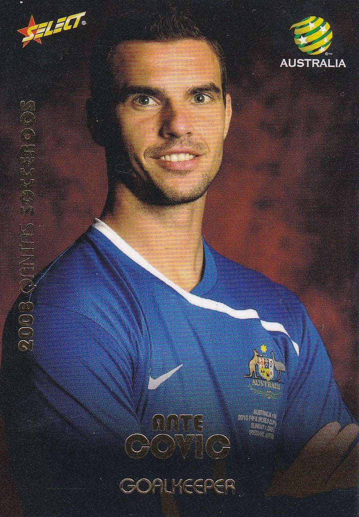 Ante Covic, Socceroos, 2008 Select A-League Soccer