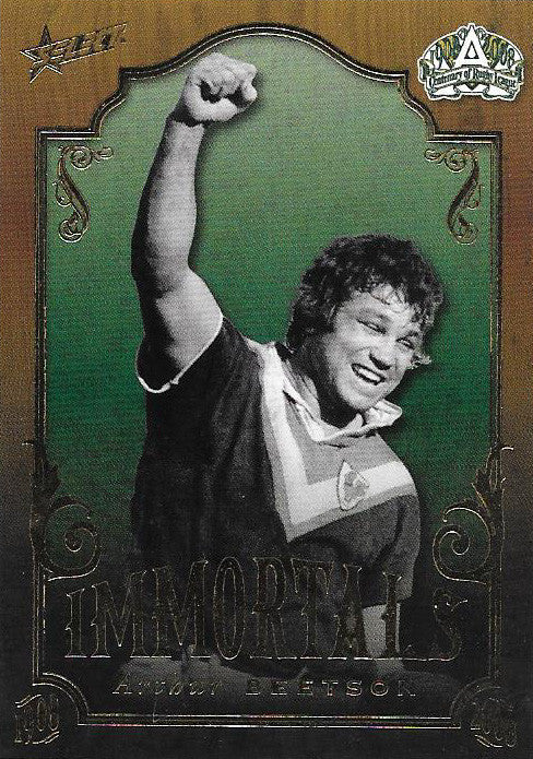 Arthur Beetson, Immortals, 2008 Select NRL Centenary of Rugby League