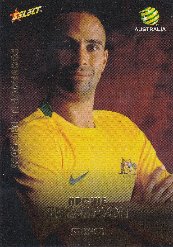 Archie Thompson, Socceroos, 2008 Select A-League Soccer