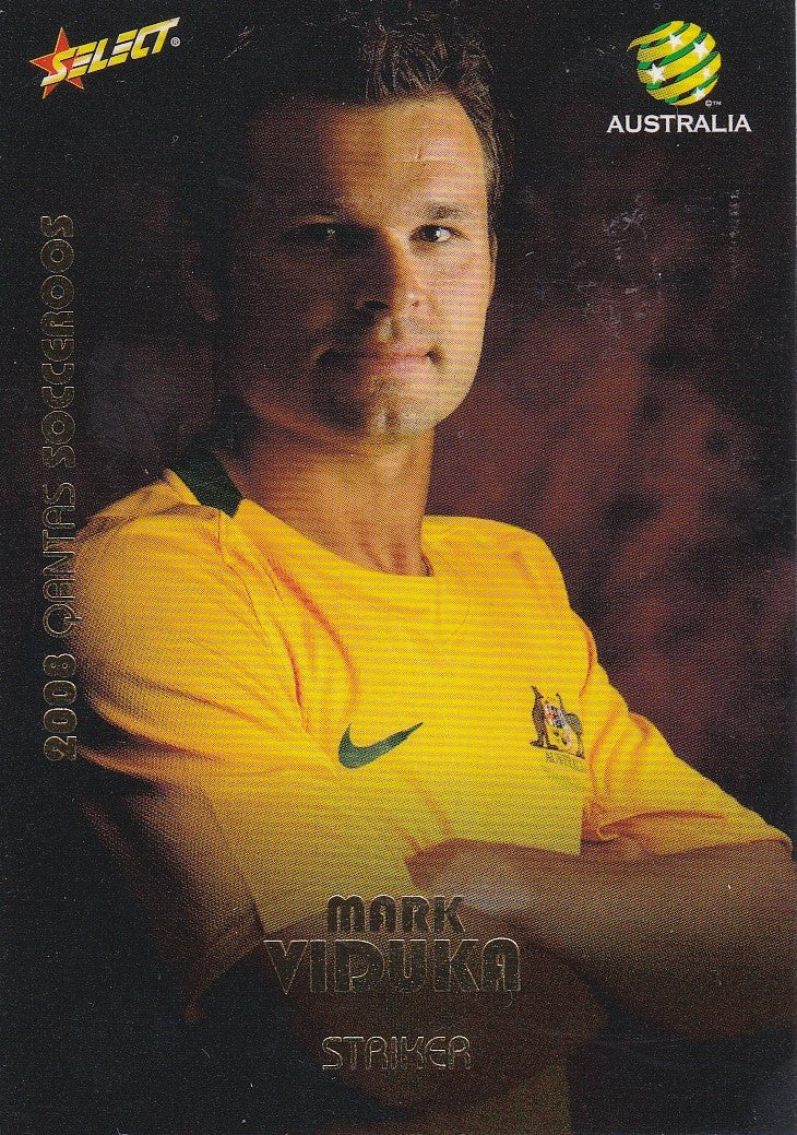 Mark Viduka, Socceroos, 2008 Select A-League Soccer