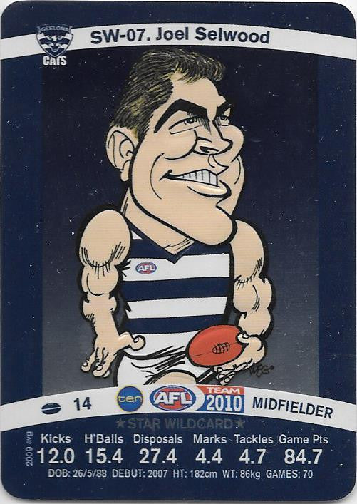 Joel Selwood, Star Wildcard, 2010 Teamcoach AFL
