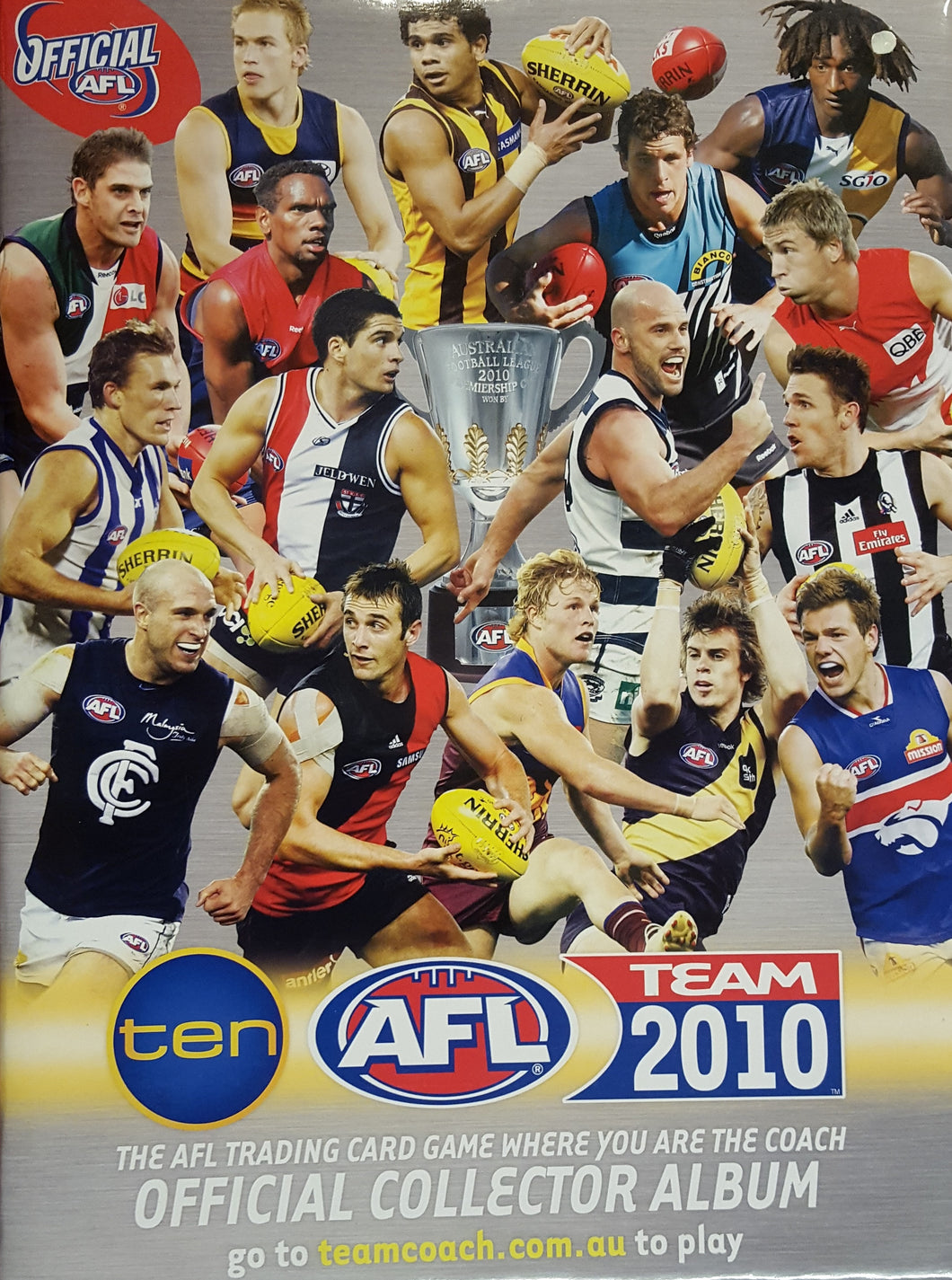 2009 Teamcoach AFL Set in Album