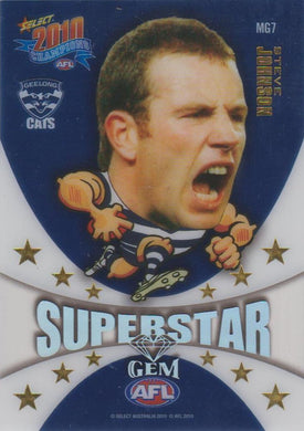 Steve Johnson, Superstar Gem, 2010 Select AFL Champions