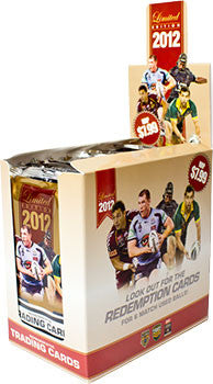 2012 esp Limited NRL 18 pack box