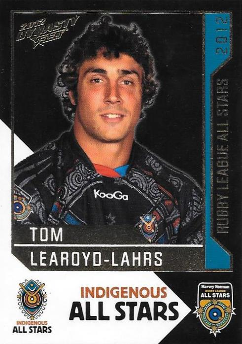 Tom Learoyd-Lahrs, Rugby League All Stars, 2012 Select NRL Dynasty
