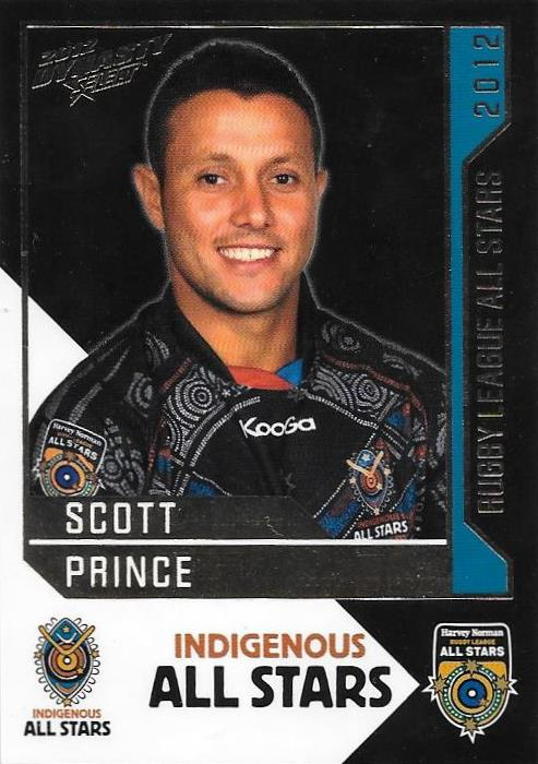 Scott Prince, Rugby League All Stars, 2012 Select NRL Dynasty