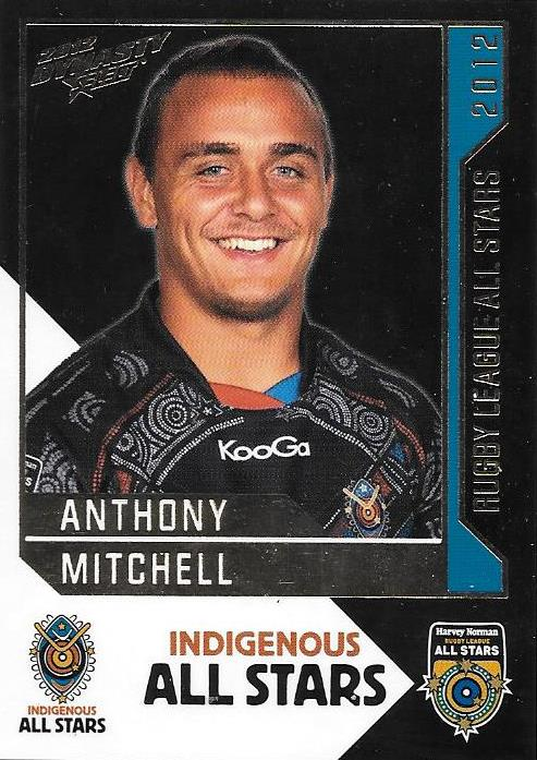 Anthony Mitchell, Rugby League All Stars, 2012 Select NRL Dynasty