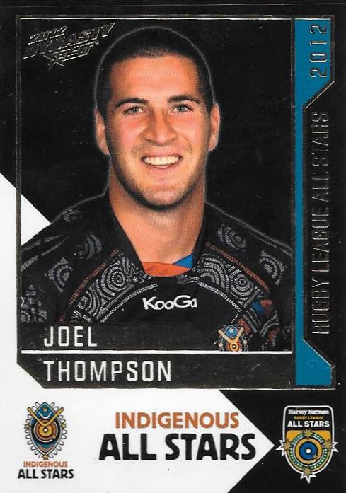 Joel Thompson, Rugby League All Stars, 2012 Select NRL Dynasty