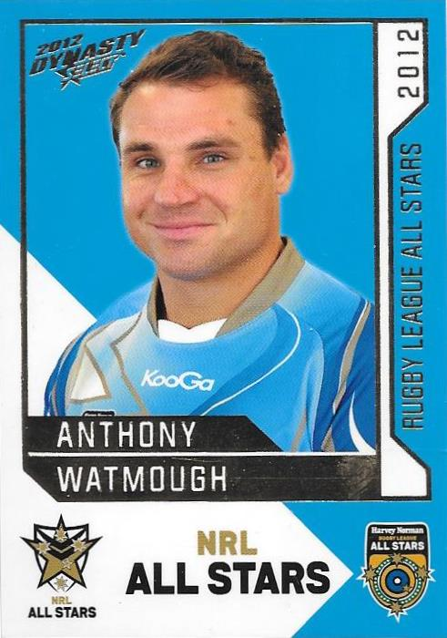 Anthony Watmough, Rugby League All Stars, 2012 Select NRL Dynasty