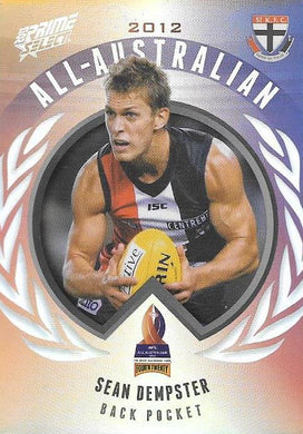 Sean Dempster, All-Australian, 2013 Select AFL Prime