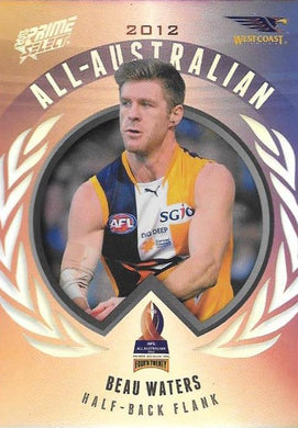 Beau Waters, All-Australian, 2013 Select AFL Prime