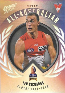 Ted Richards, All-Australian, 2013 Select AFL Prime