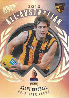 Grant Birchall, All-Australian, 2013 Select AFL Prime