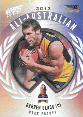 Darren Glass, All-Australian, 2013 Select AFL Prime