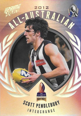 Scott Pendlebury, All-Australian, 2013 Select AFL Prime