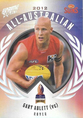 Gary Ablett, All-Australian, 2013 Select AFL Prime