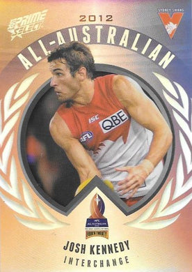 Josh Kennedy, All-Australian, 2013 Select AFL Prime