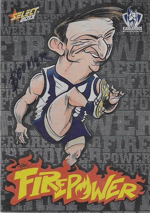 Brent Harvey, Firepower Caricature, 2013 Select AFL Champions