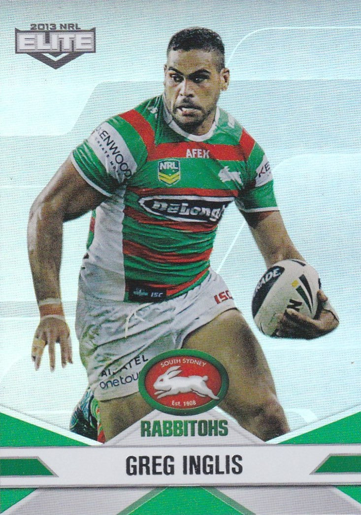 2013 ESP Elite Rugby League Parallel card - 1 to 100 - Pick Your Card