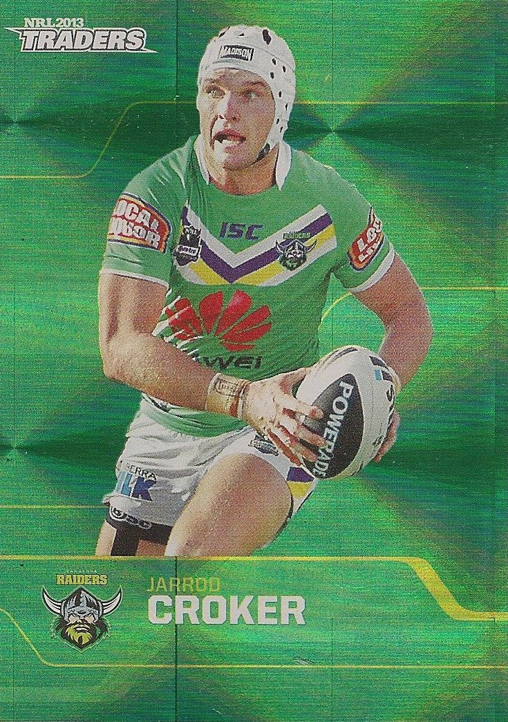 2013 ESP Traders Rugby League Parallel card - 101 to 192 - Pick Your Card