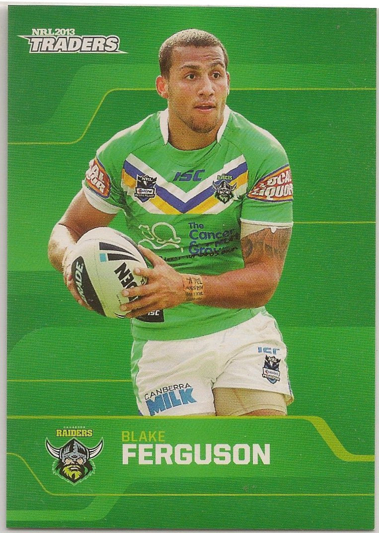 2013 ESP Traders Rugby League Common card