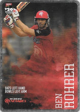 2014-15 Tap'n'play CA BBL Silver Parallel Cricket card - 1 to 100 - Pick Your Card