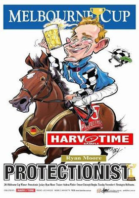 Protectionist, 2014 Melbourne Cup, Harv Time Poster