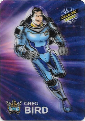 Greg Bird, Galactic Heroes Parallel, 2014 ESP Traders NRL