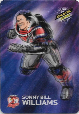 Sonny Bill Williams, Galactic Stars Parallel, 2014 ESP Traders NRL
