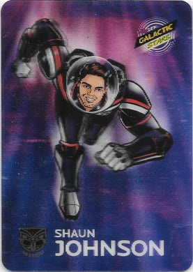 Shaun Johnson, Galactic Stars Parallel, 2014 ESP Traders NRL