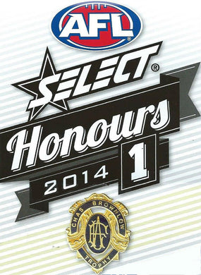 2014 Select AFL Honours 1 Set of 220 Football cards
