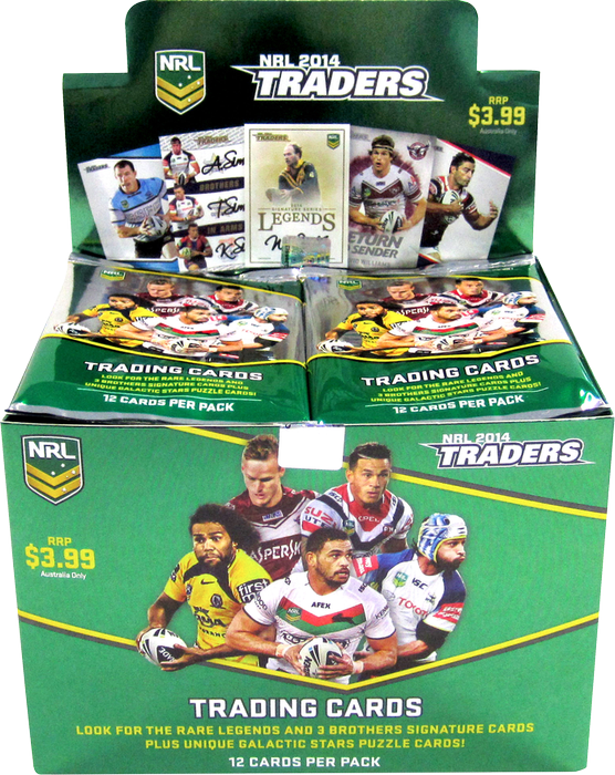 2014 Traders NRL 36 pack box