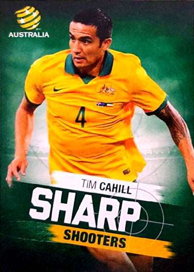 2015-16 Tap'n'play FFA A-League Soccer, Sharp Shooters, Tim Cahill, # SH-01
