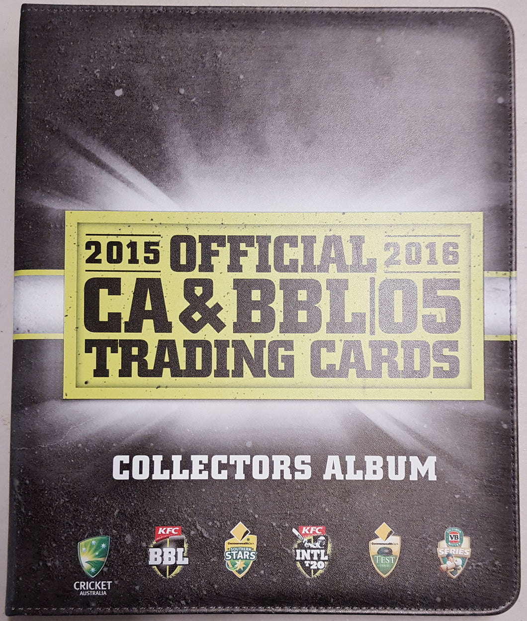 2015-16 TapnPlay BBL CA Cricket Set & Folder