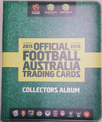 2015-16 TapnPlay A-League Soccer Set & Folder