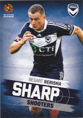 2015-16 Tap'n'play FFA A-League Soccer, Sharp Shooters, Besart Berisha, # SH-07