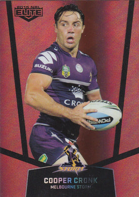 Melbourne Storm Ruby Mojo set, 2015 ESP Elite NRL