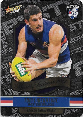 Tom Liberatore, Best & Fairest, 2015 Select AFL Champions