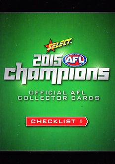 2015 Select AFL Champions Set of 220 Football cards