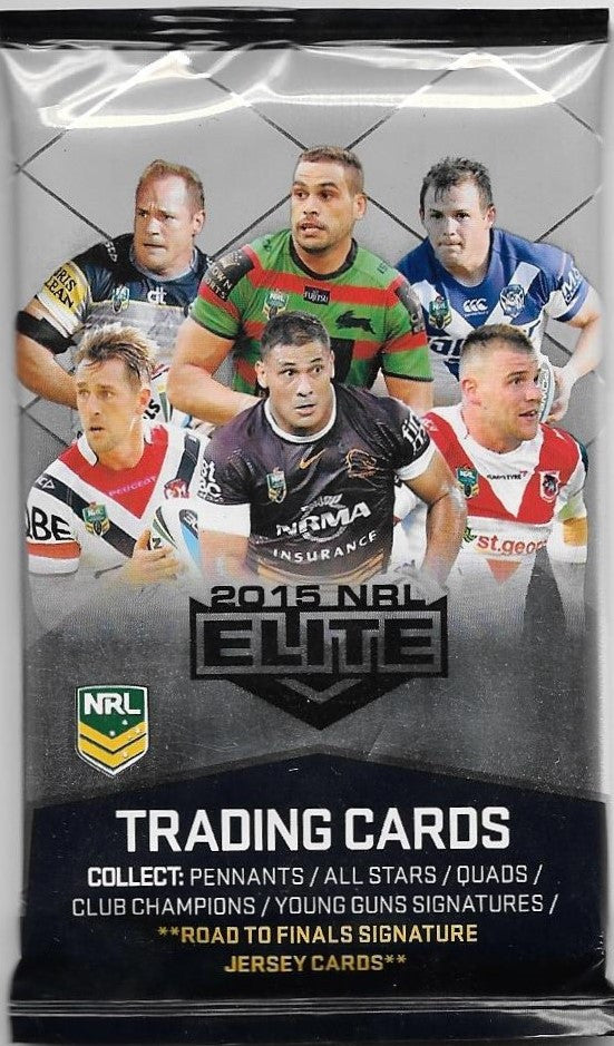 2015 NRL Elite Pack of cards