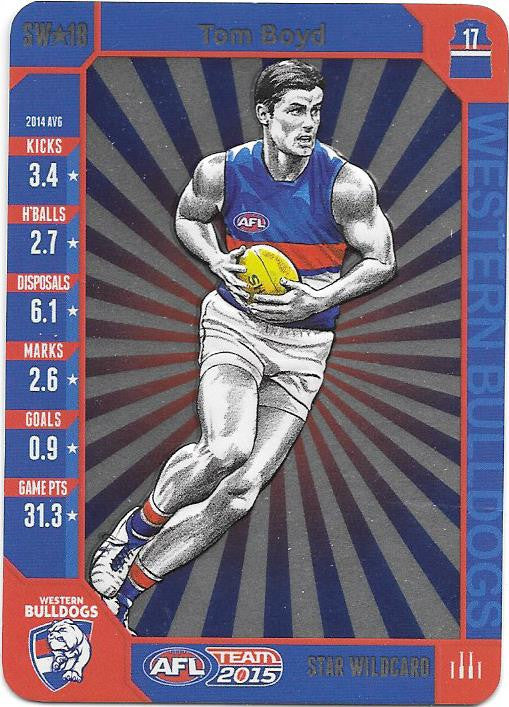 Tom Boyd, Star Wildcard, 2015 Teamcoach AFL