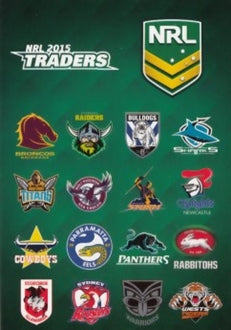 2015 esp NRL Traders Set of 162 Rugby League cards