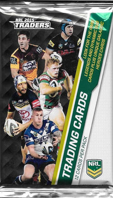 2015 NRL Traders Pack of cards