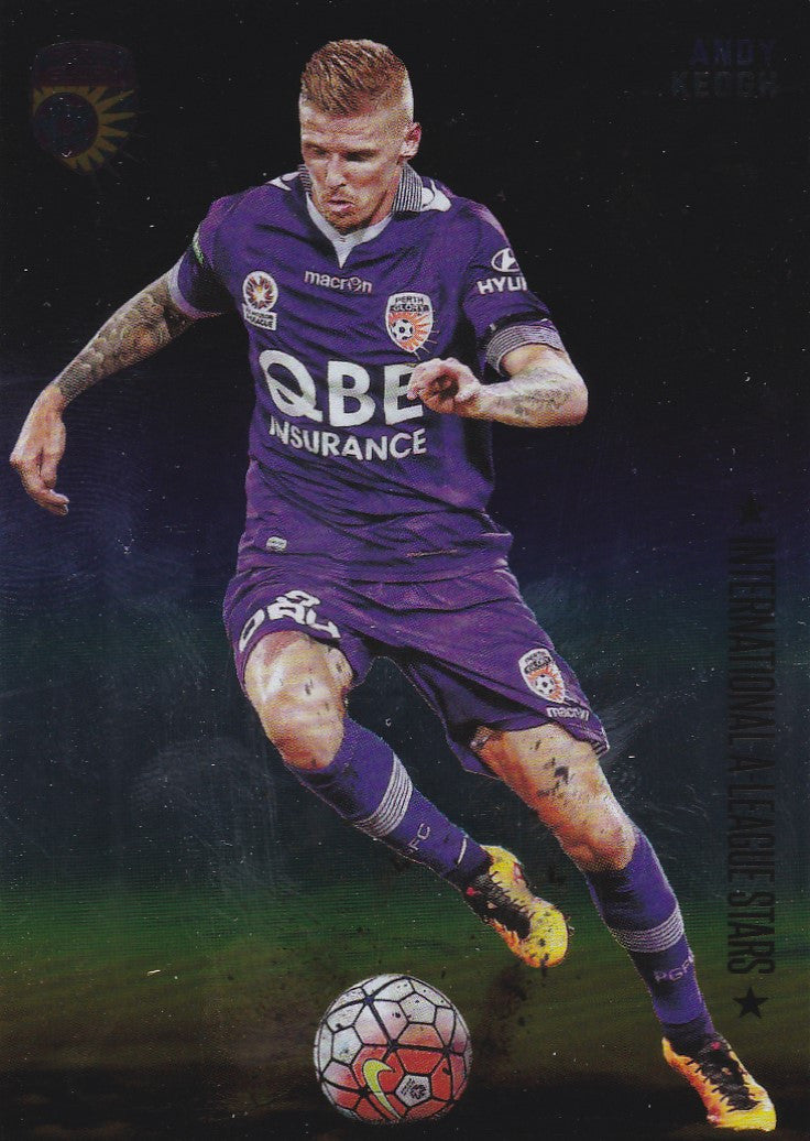 2016-17 Tap'n'play FFA A-League Soccer, International Stars, Andy Keogh