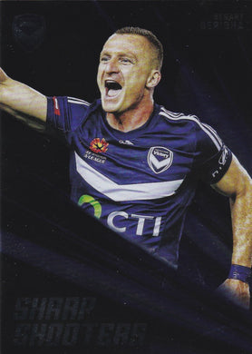 2016-17 Tap'n'play FFA A-League Soccer Sharp Shooter, Besart Berisha