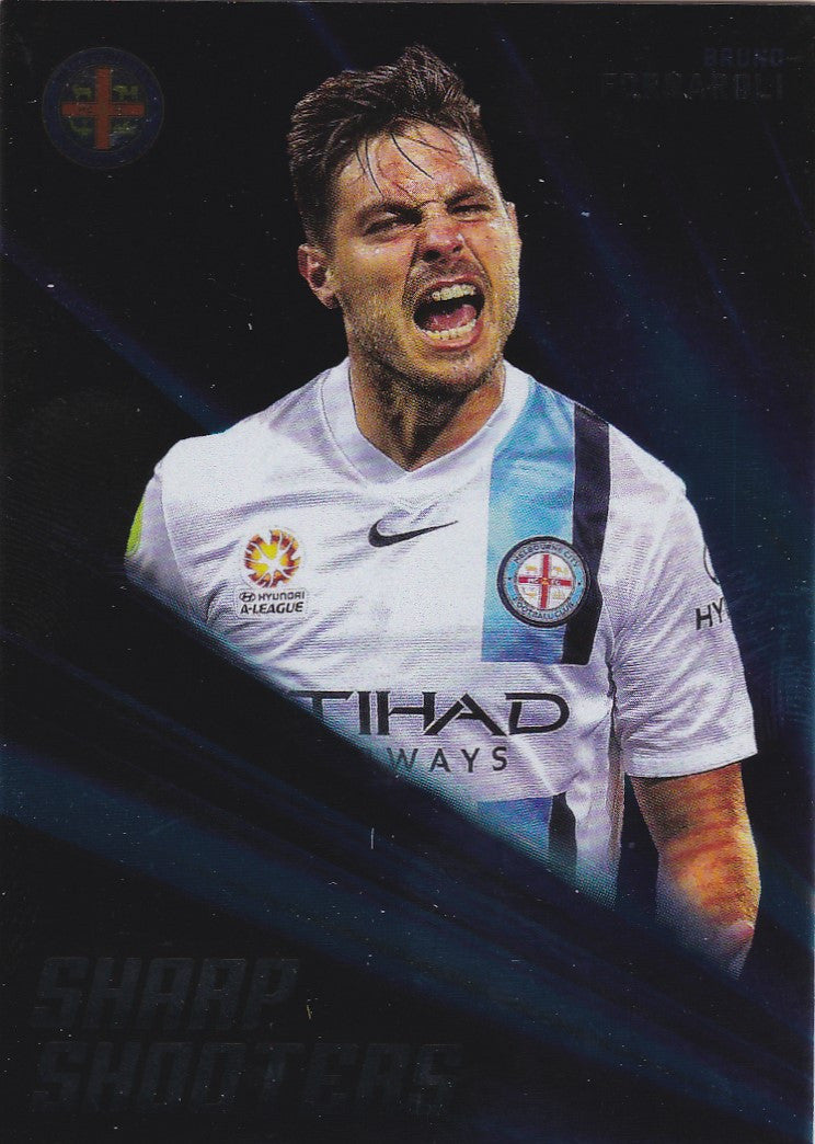 2016-17 Tap'n'play FFA A-League Soccer Sharp Shooter, Bruno Fornaroli