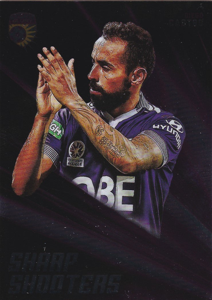 2016-17 Tap'n'play FFA A-League Soccer Sharp Shooter, Diego Castro