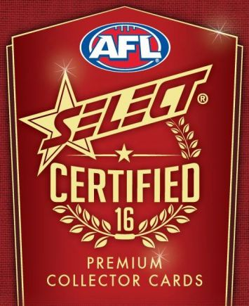 2016 Select AFL Certified Set of 220 Football cards